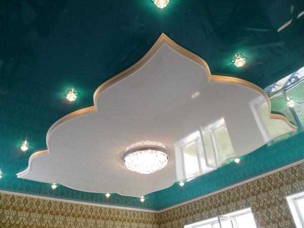 Уровневые натяжные потолки любой формы!